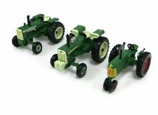 OLIVER 88 1555 1950T TRACTORS ERTL'S  VINTAGE  3 PC SET 1:64 NOT MADE ANYMORE