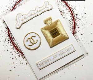 Chanel Gabrielle woven sticker sheet VIP Beaute Gift x 1pc