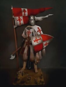 "12"" CUSTOM LEGENDARY CRUSADER KNIGHT OF THE HOLY GRAIL 1/6 FIGURE IGNITE"