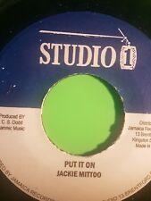 Studio One PUT IT ON/VERSION Jackie Mittoo