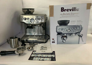 Breville Barista Express Automatic Espresso Machine BES870XL/A Silver FOR PARTS