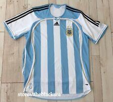 ARGENTINA NATIONAL TEAM 2006 2007 HOME FOOTBALL SOCCER SHIRT JERSEY MEN XL