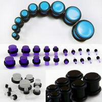 Make A Set No Flare Acrylic O-Ring Ear Plug Gauge Stretching Expanding Set Kit