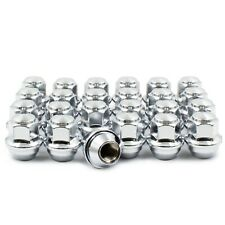 24 Chrome Factory Style Lug Nut M12x1.50 Replacement for Ford ACPZ-1012-H