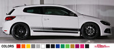 Sticker Decal Graphic Stripe Body Kit for Volkswagen Scirocco Racing Lip Spoiler