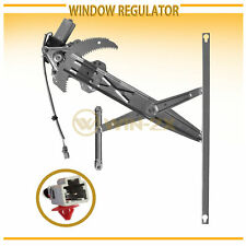1pc Front Left Power Window Regulator w/ Motor Fit 96-00 Civic Coupe/Hatchback