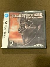 Nintendo DS Video Game Transformers Decepticons Rated E