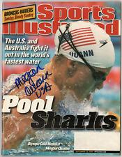 Megan Quann signed autographed Sports Illustrated magazine! Authentic!