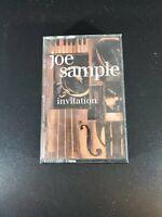 Joe Sample - Invitation - Cassette - EX Condition