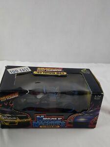 2003 TOYOTA MR2 PIRELLI IN METALIC GREYIIIII TUNERS  MUS. MACH.  1:24 SCALE
