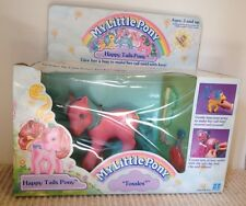 My Little Pony G1 Vintage Tossles Happy Tails Pony Mib Moc