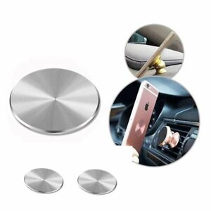 Metal Plate Adhesive Sticker Replace For Magnetic Car Mount Phone Holder