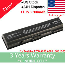 Battery for Toshiba Satellite A305-S6825 L305-S5907 L305-S5921 L455-S5009 Laptop