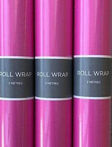 Hallmark Pink  Wrapping Paper Rolls (2 - 96 Metres) - 70cm Wide -Fast dispatch