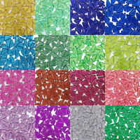 Crystal Glitter Glass Mosaic Tiles For Crafts Material Supplier Hobbies Artwork