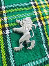 NEW SCOTTISH RAMPANT LION KILT PIN SILVER PLATED SMALL LION KILT PINS