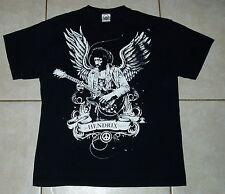 Jimi Hendrix T Shirt (L) Large Mens who santana van halen jeff beck satriani vai