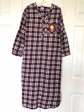 Warner Bros 2000 Millennium TWEETY Bird Flannel PAJAMAS Nightgown Shirt DRESS XS