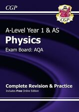 New 2015 A-Level Physics: AQA Year 1 & AS Complete Revision & Practice with Onl.