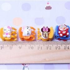 10 PCS Hair Claw Clip Clamp Cute Cartoon Bulldog Little Girl Baby Accessory