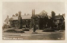 WORSLEY OLD HALL - Manchester - Unused Original Real Photo Postcard (HCAR)