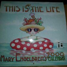"""Mary Engelbreit's 2009 Calendar 7""""X14"""" very nice condition"""