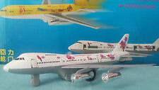 avion BOEING 747 TURBO JET de Super Resort Express blanc et gris avion miniature