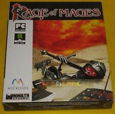 RAGE OF MAGES Pc Versione Ufficiale Italiana 1ª Edizione Big Box ••••• COMPLETO
