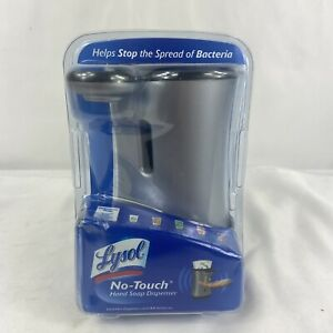 Lysol No Touch Automatic Hand Soap Dispenser Silver - New