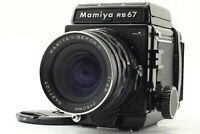 [NearMINT] Mamiya RB67 Pro S w/ SEKOR C F4.5 50mm Lens 120 Filmback from JAPAN