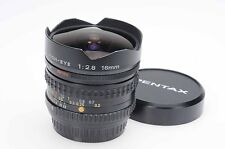 Pentax 16mm f2.8 SMC A Fish-Eye Lens 16/2.8 K Mount                         #679