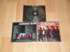 SCORPIONS HURRICANE ROCK 1974 - 1988 MUSIC CD DEL AÑO 1990 EN BUEN ESTADO