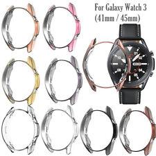 Para Samsung Galaxy Watch 3 41mm 45mm Protector de Pantalla Reloj TPU cubierta completa
