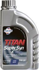 FUCHS TITAN SUPERSYN F ECO-B 5W-20 ENGINE OIL LUBRICANT 1 LITRE ACEA A1/B1