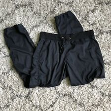 Aspire Womens 1X Black Semi Fitted Pants Joggers Wicking Comfort Stretch NWT