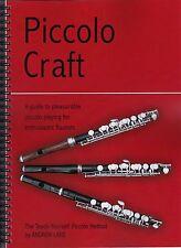 PICCOLO CRAFT teach-yourself piccolo method tutor, Andrew Lane.