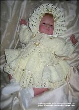 CROCHET PATTERN:  Baby/Reborn 3 pce outfit, MPN CR0131 by Frandor Formats