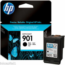 HP N°901 Officejet Noir Original OEM jet d'encre Cartouche CC653AE