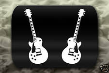 Electric Guitar Sticker gibson les paul rock band