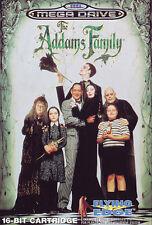 # Sega Mega Drive-The Addams Family/MD jeu #