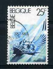 BELGIQUE 1982, timbre 2046, bateau, voilier, oblitéré