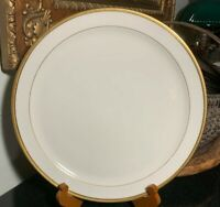 "Lenox Tuxedo 12 3/4"" Chop Plate or Round Platter Gold Trim USA - Excellent"