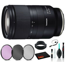 Tamron 28-75mm f/2.8 Di III RXD Lens for Sony E Advanced Bundle - 3pc Filter +