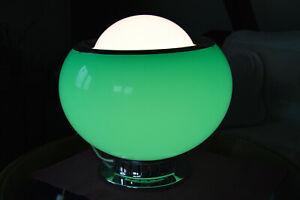 Italian Mid Century 1960's Table, Floor Ceiling Lamp by Harvey Guzzini, Meblo