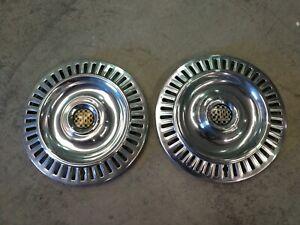 Chrysler New Yorker 300 Hubcaps 55 56