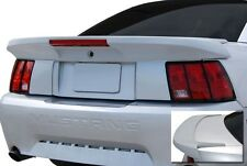 "FOR FORD MUSTANG PAINTED ""Saleen-Style Long"" w/Light Rear Spoiler Wing 1999-2004"