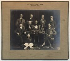 1925 Nottingham Boat Club trophy photo NOTTINGHAMSHIRE ENGLAND yacht rowing crew