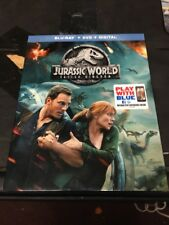 Jurassic World Fallen Kingdom (Blu-ray + DVD + Digital, 2018) NEW SEALED!!!