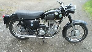 AJS 16MS 350cc CLASSIC MOTORCYCLE