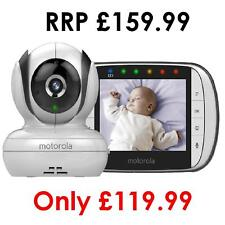 "Motorola MBP36S Digital Camera Video Baby Monitor - Night Vision 3.5"" Colour LCD"